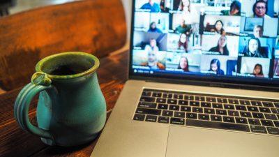 Zoom screen online discipleship